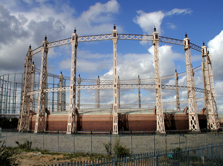 Hidden London: Beckton gasholders <em/>c.2004