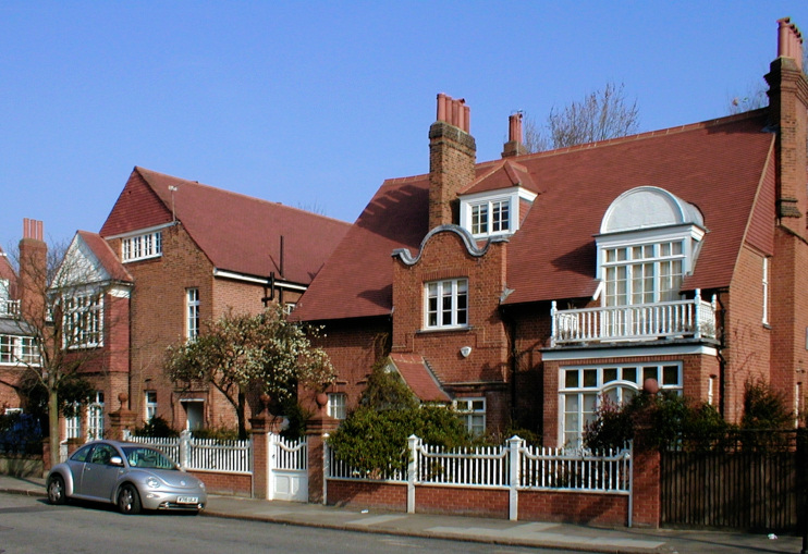 Hidden London: Bedford Park houses