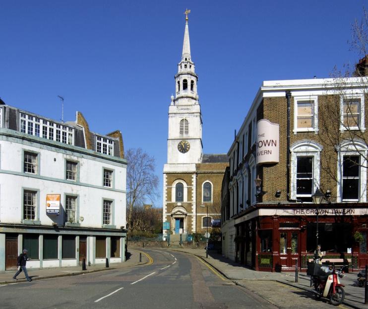 Hidden London: St James Clerkenwell Church, seen in 2006