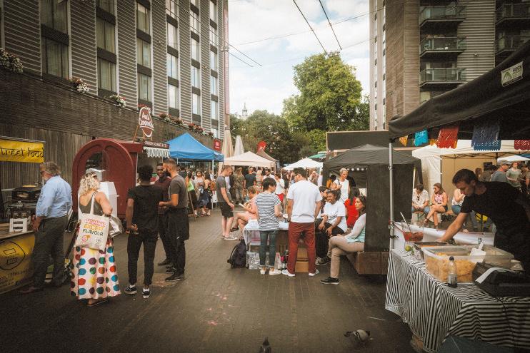 Hidden London: boozing in Bermondsey Square