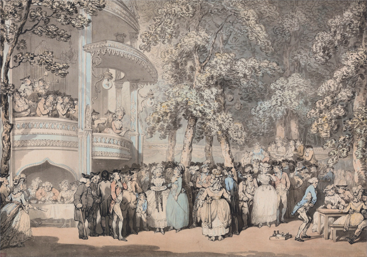 Hidden London: Thomas Rowlandson, Old Vauxhall Gardens