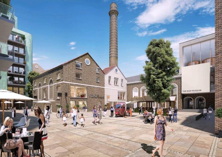 Hidden London: Wandsworth Ram Quarter CGI