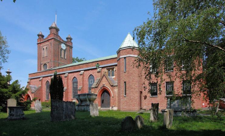 Hidden London: St Mary's church, Woodford
