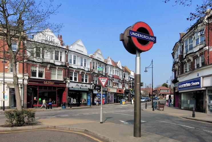 Hidden London: Outside Woodford Station by Des Blenkinsopp