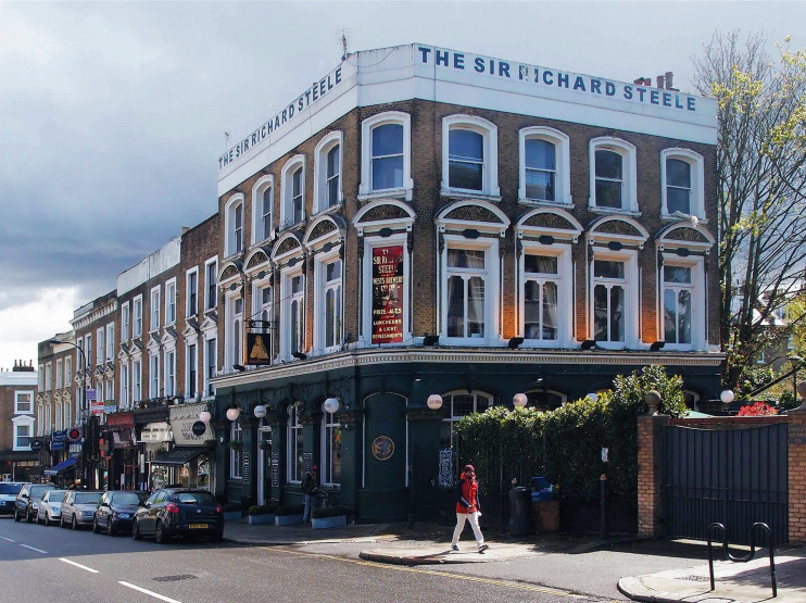 Hidden London: Sir Richard Steele, Haverstock Hill