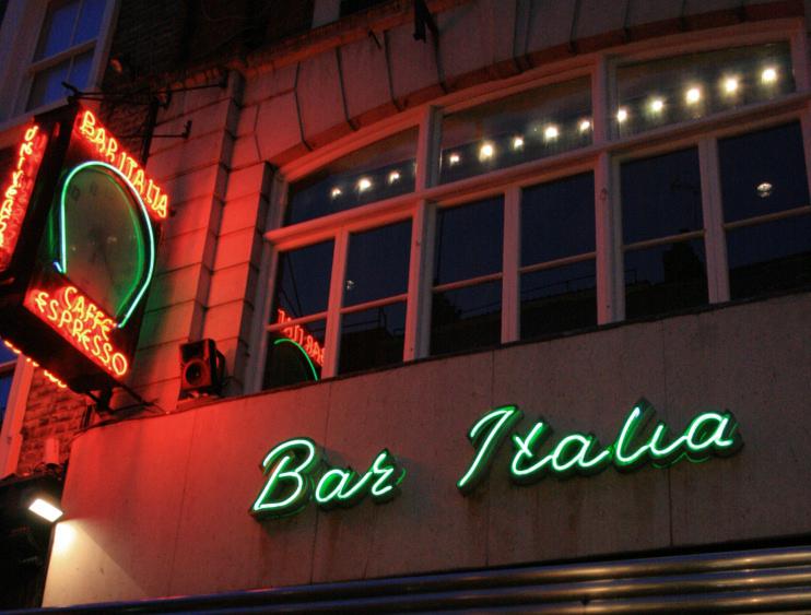Hidden London: Bar Italia