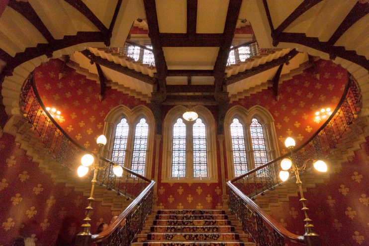 Hidden London: The grand staircase of the St Pancras Renaissance Hotel by Barney Moss