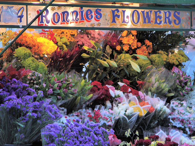 Hidden London: Ronnie's Flowers, Berwick Street market