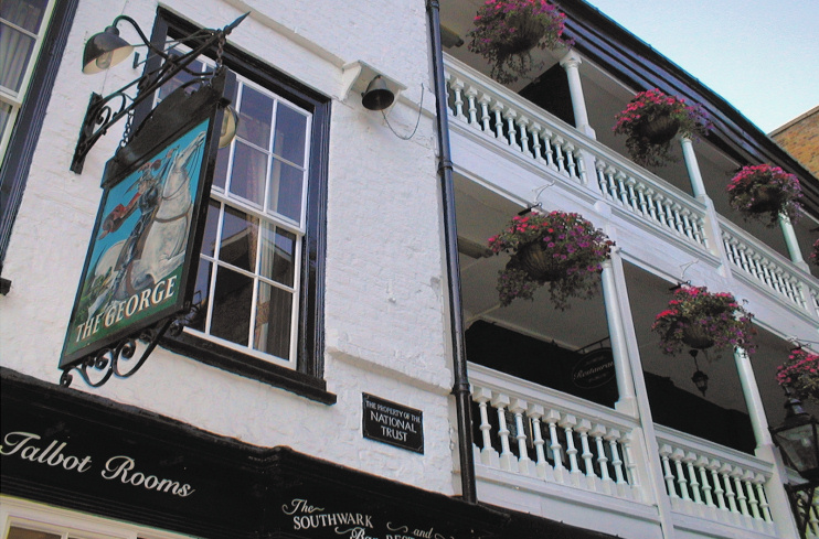 Hidden London: George Inn, Borough