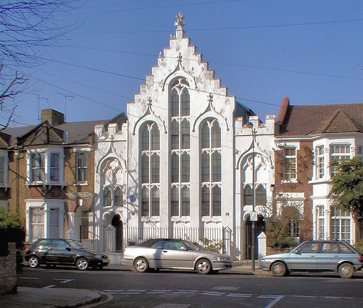 Hidden London: 41 Iffley Road, Brackenbury Village, opposite the junction with Hebron Road