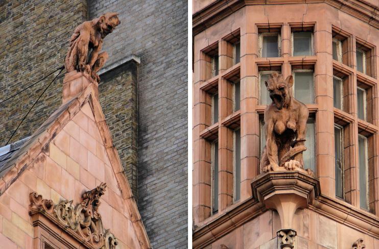 Hidden London: Cornhill devils