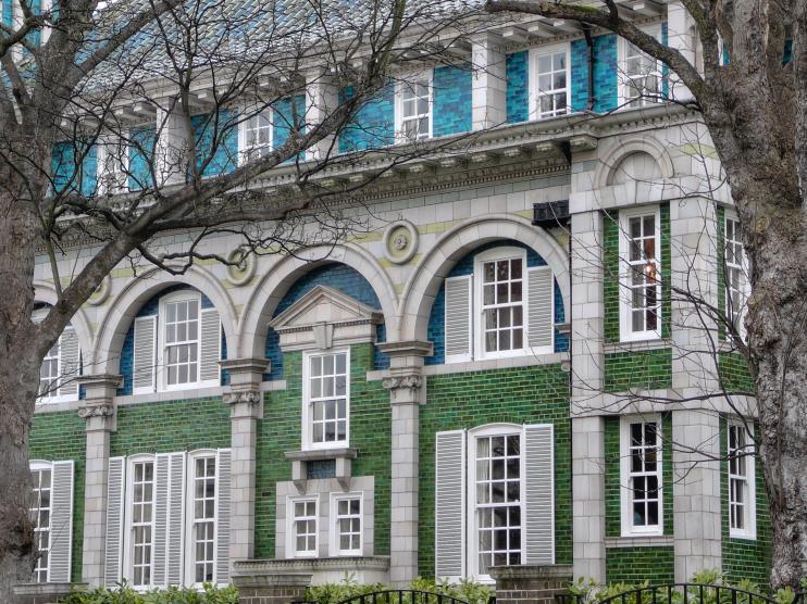Hidden London: Debenham House exterior close-up