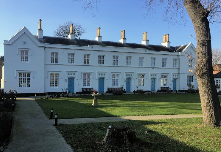Hidden London: Girdlers' almshouses, Nunhead, by Chris Barrett