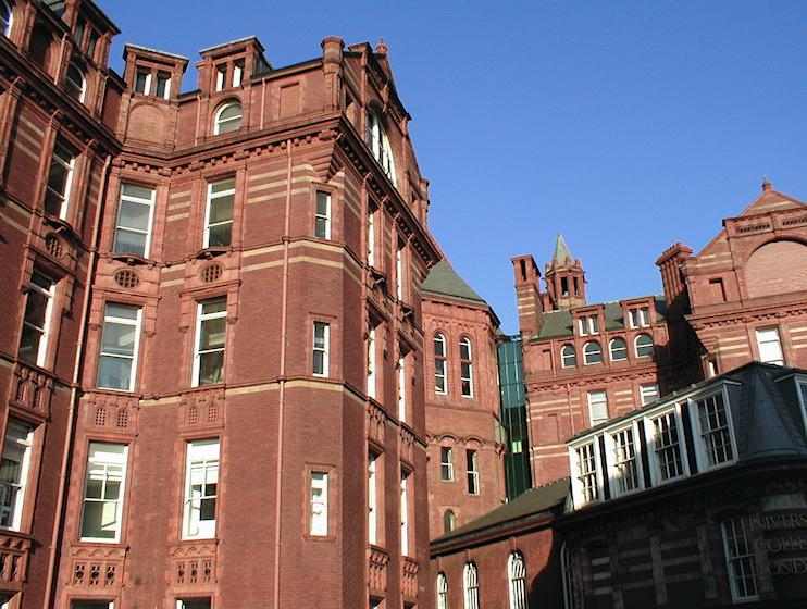 Hidden London: University College London: Cruciform Building