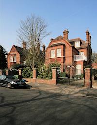 Hidden London: Houses on Waldegrave Park, Strawberry Hill