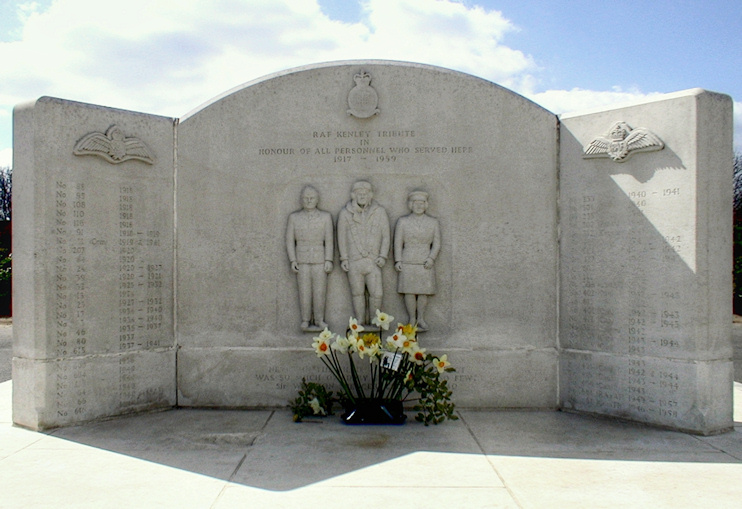 Hidden London: RAF Kenley Tribute in honour of all personnel who served here 1917–59