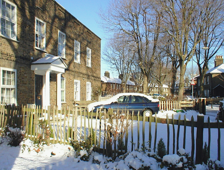 Hidden London: Thermopylae Gate in the snow