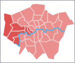 West London, as defined for the purposes of this page