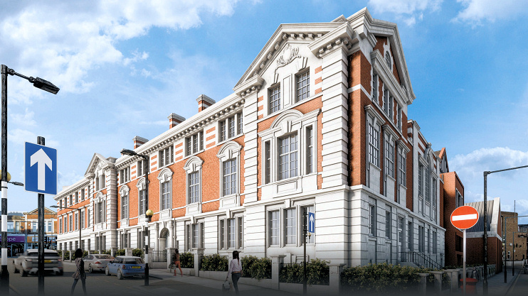 Hidden London: Acton town hall CGI