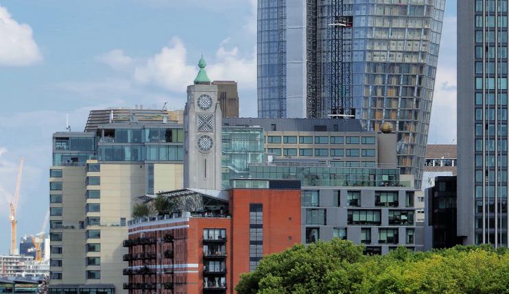 Hidden London: Oxo Tower and taller neighbours (1 Blackfriars and South Bank Tower), by Matt Buck