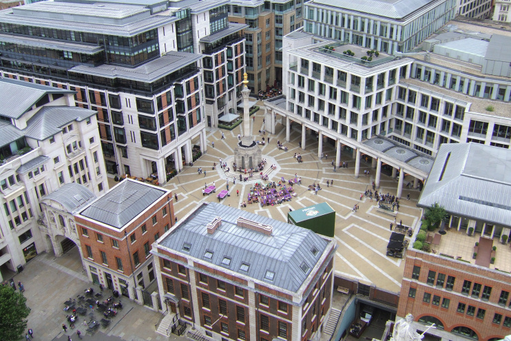 Hidden London: Paternoster Square by William Marnoch