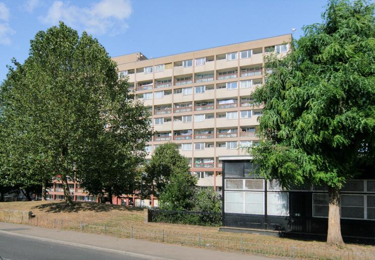 Hidden London: Phipps Bridge flats