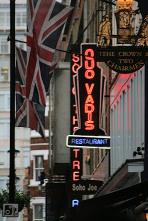 Hidden London: Quo Vadis signage