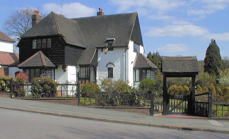Hidden London: A pleasing looking house on Smitham Downs Road