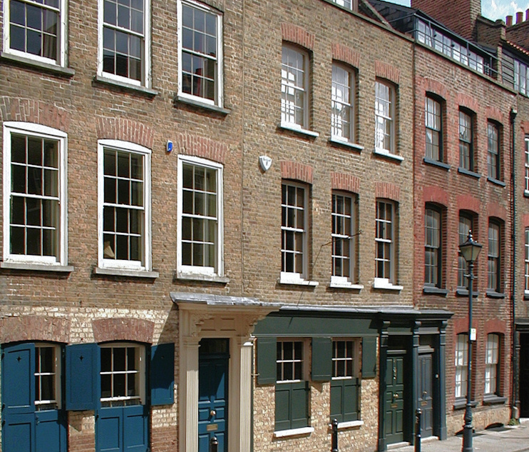 Hidden London: Former weavers' houses on Fournier Street