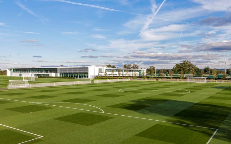 Hidden London: Tottenham Hotspur Training Centre by KSS