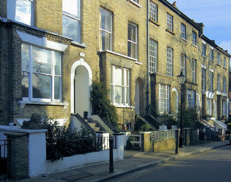 Hidden London: Heath Villas, Vale of Health