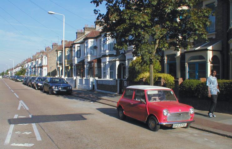 Hidden London: Burges Road, Wall End
