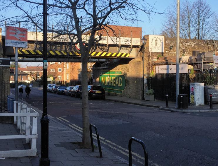 Hidden London: outside Nunhead station by Chris Barrett