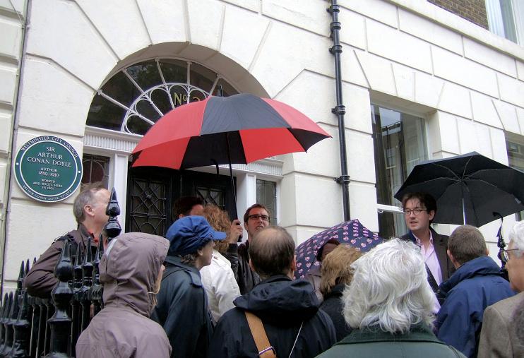 Hidden London: Medical history tour in Upper Wimpole Street, by ceridwen