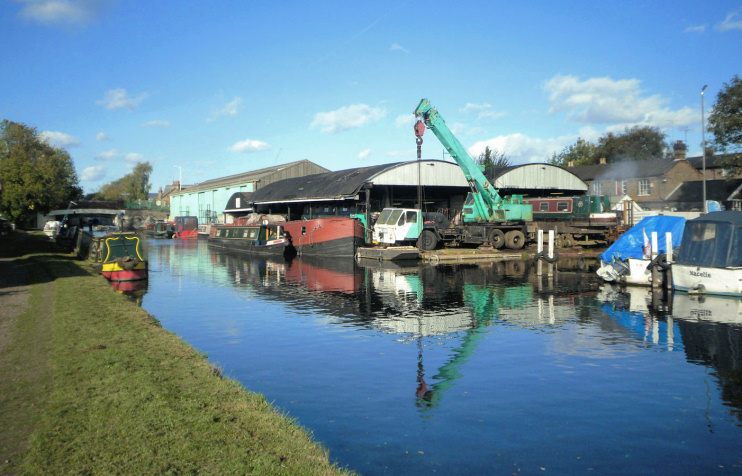 Hidden London: London Loop at Uxbridge Boat Yard, by Des Blenkinsopp