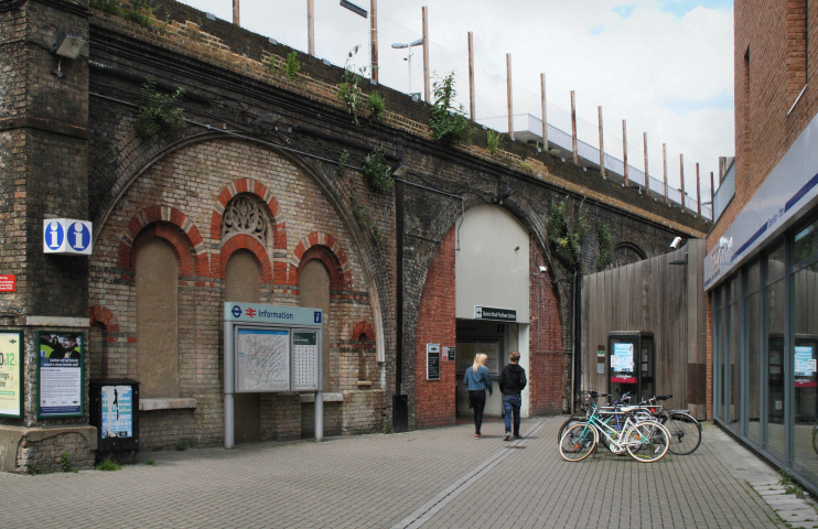 Hidden London: Peckham: Queens Road station by Dr Neil Clifton