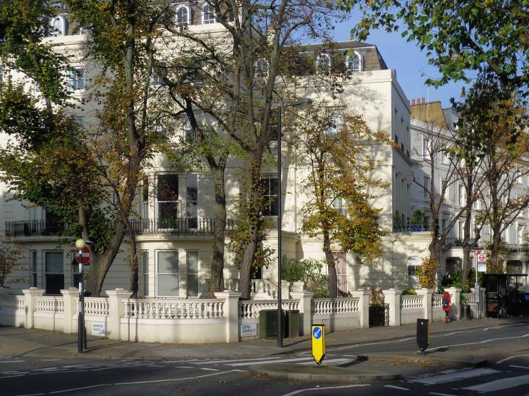 Hidden London: Houses in Clifton Gardens by Marathon