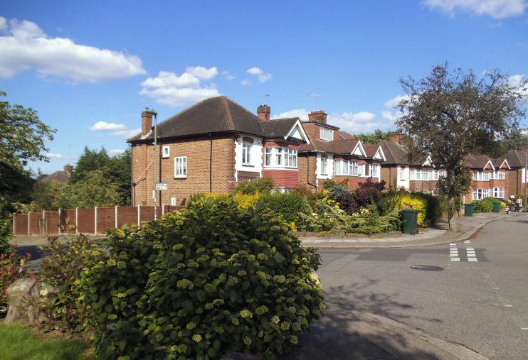 Hidden London: Cissbury Ring North, Woodside Park, by David Howard