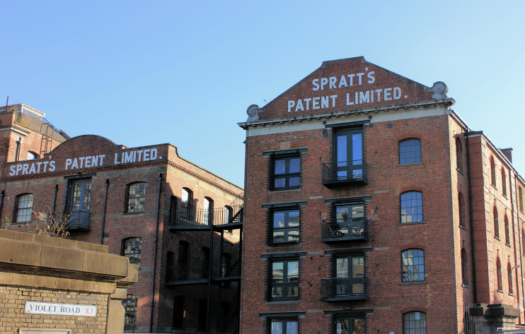 Hidden London: Spratts Patent Ltd, Violet Road, by Robert Eva