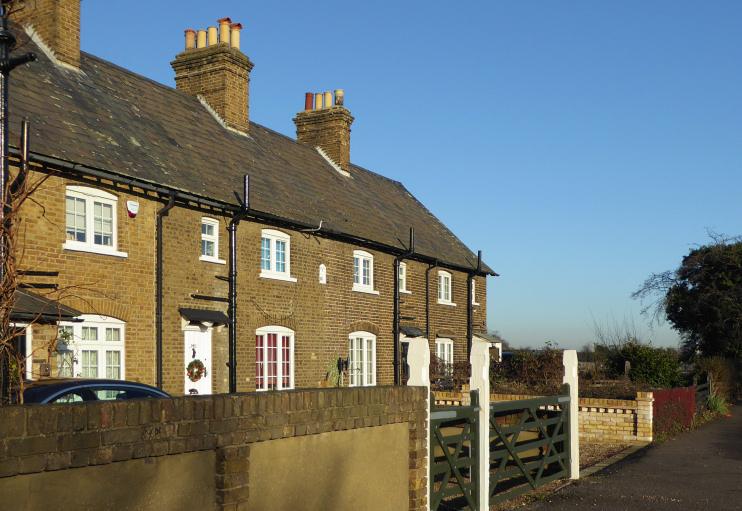 Hidden London: Crown Cottages, Crowlands, by Marathon