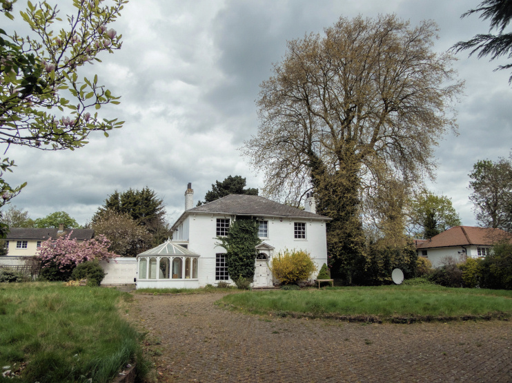 Hidden London: Bush Hill Cottage by Christine Matthews