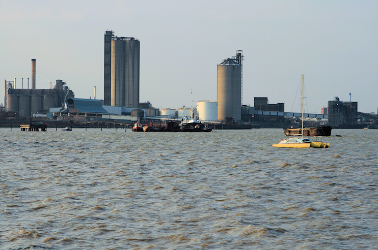 Hidden London: Industrial Erith, seen across the water