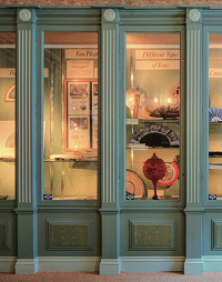 Hidden London: Fan Museum display case