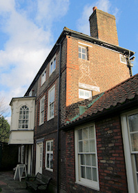 Hidden London: Hogarth's House in winter