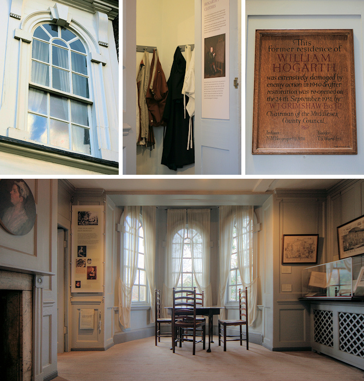 Hidden London: 4 views of Hogarth's House
