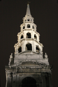 Hidden London: St Brides church steeple