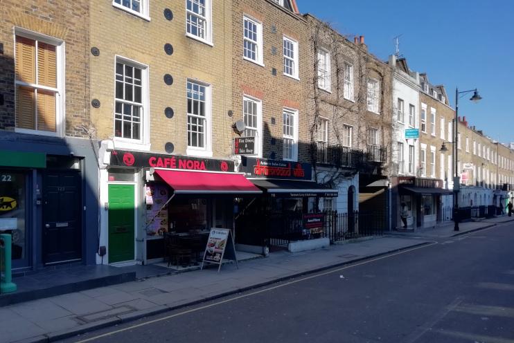 Hidden London: Drummond Street in sunshine
