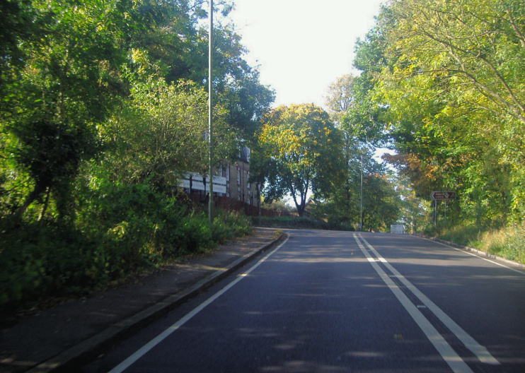 Hidden London: Brockley Hill by the junction of Wood Lane by David Howard