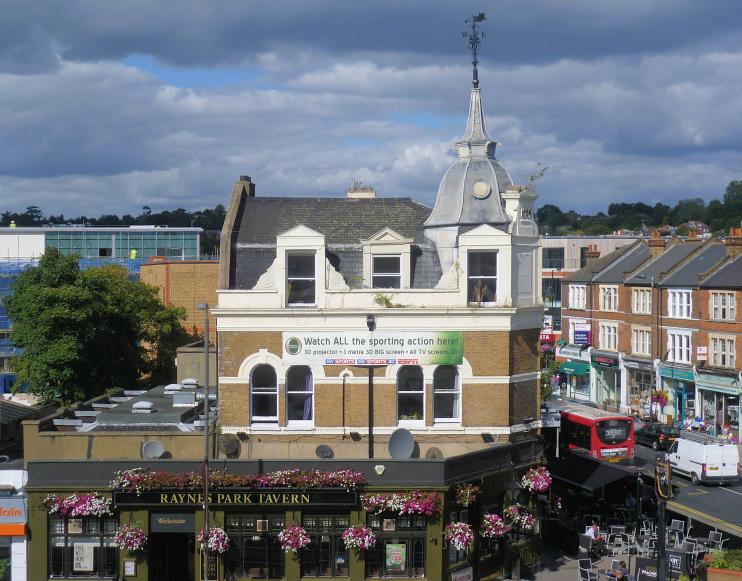 Hidden London: The Raynes Park Tavern by Marathon