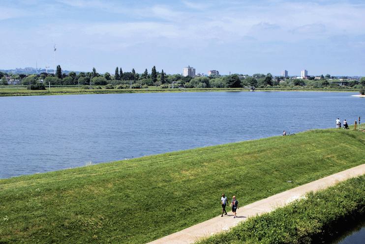 Hidden London: View over the Warwick Reservoir East by Robert Lamb